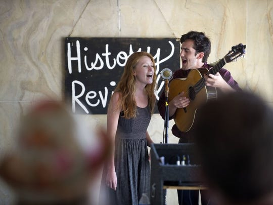 Bonnie Simmons and Taylor Kress of Jubal will perform Nov. 9 at The Outpost.