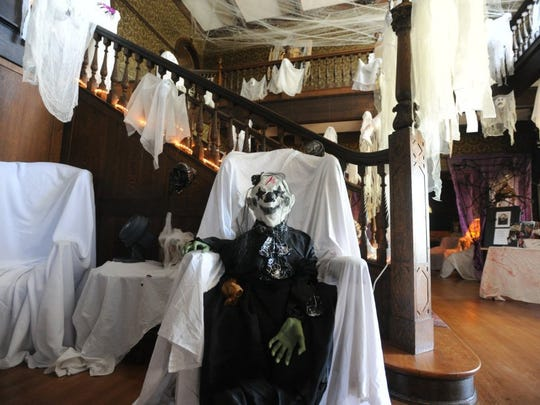 The Swenson House has been decked out with ghosts, ghouls and goblins in preparation for being showcased in Haunted Abilene.