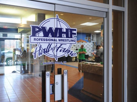 The Pro Wrestling Hall of Fame is in downtown Wichita Falls.