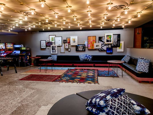 The New Moxy Hotel In Tempe Is A Marriott Brand Geared To Millennial Generation Photo Todd Tamcsin