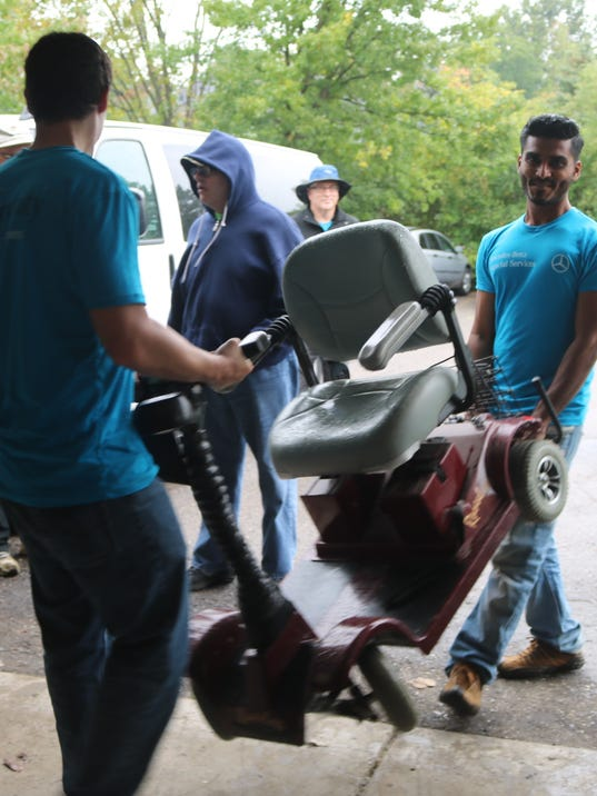 Mercedes Benz Staff Spends Week Sprucing Up Group Home