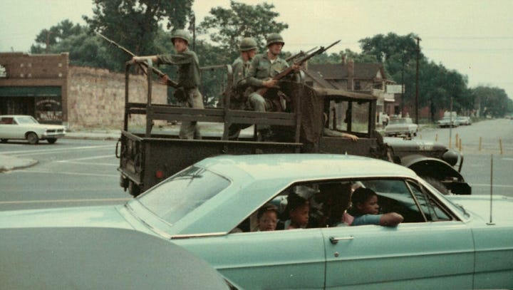 1967's uprising as seen in color by a delivery driver