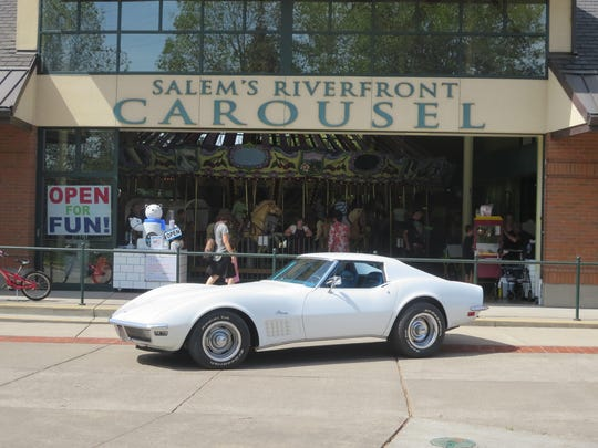 Willamette Valley Street Rods Vice President Niccole Geck will show her 1970 Corvette Stingray at the Carousel Cruise on Saturday, Sept. 5.