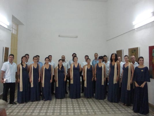 Cuban choir