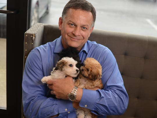 John Thompson is the owner of the Pawfect Puppy, a