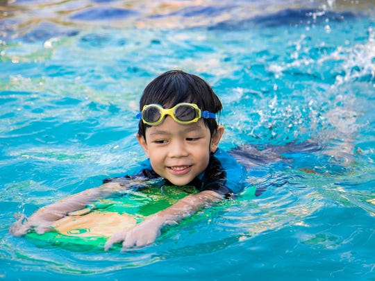 Both kids and adults can learn to swim they enroll