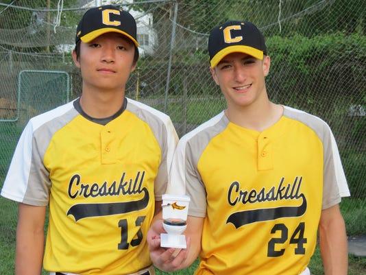 Noah Kim and Josh Danzig of Cresskill