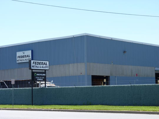 Federal Metals & Alloys in South Plainfield.