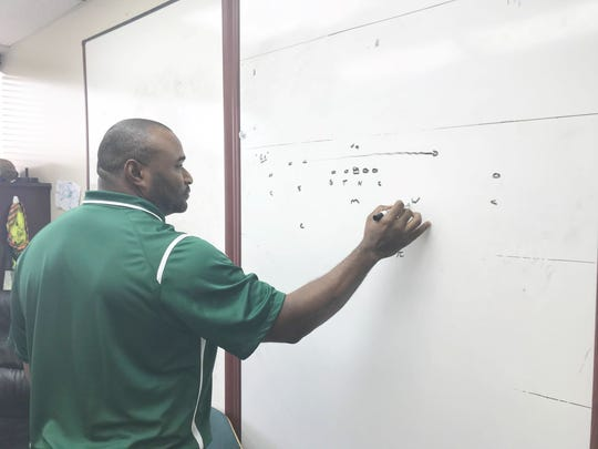 Ralph Street logs several hours devising new schemes as the defensive coordinator at FAMU.