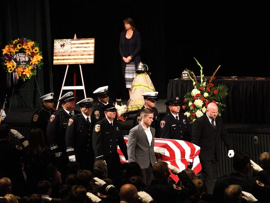 Memorial service for Redding fire inspector Jeremy Stoke