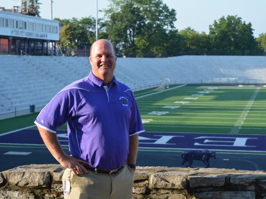 Longtime Elder High School teacher/coach Kevin Espelage was named athletic director in late June 2017, taking over for Dave Dabbelt. Espelage graduated from Elder in 1991.