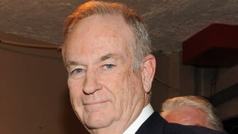 "Fox News commentator and author Bill O'Reilly is shown here at the Comedy Central ""Night Of Too Many Stars: America Comes Together For Autism Programs"" at the Beacon Theatre in New York in 2012."