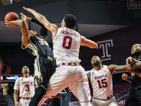 NCAA Basketball: Central Florida at Temple