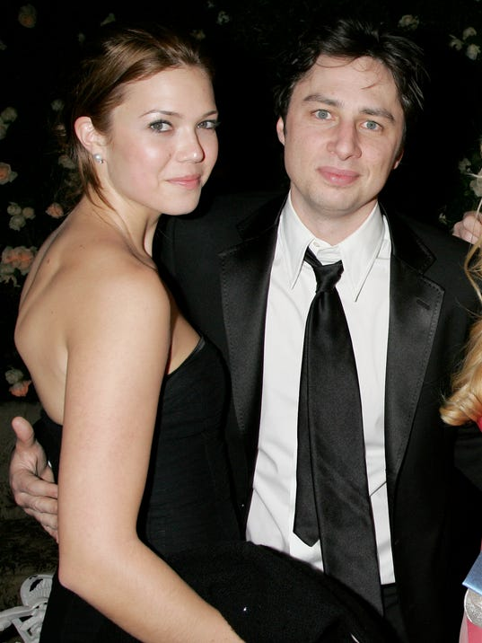 Why Zach Braff 'didn't like' dating Mandy Moore Zach Braff Mandy Moore