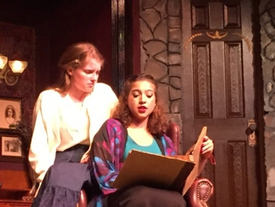 """The Barn Theatre's production of """"The Haunting of Hill"""