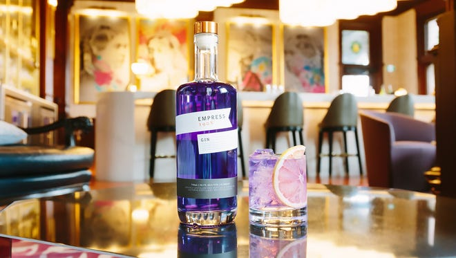 Empress 1908 Gin is a color-changing gin.