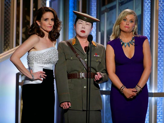 Tiny Fey, from left, Margaret Cho, and Amy Poehler