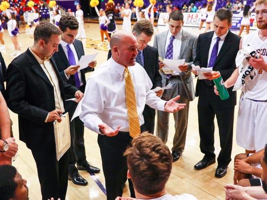 Coach Casey Alexander said he likes the momentum Lipscomb