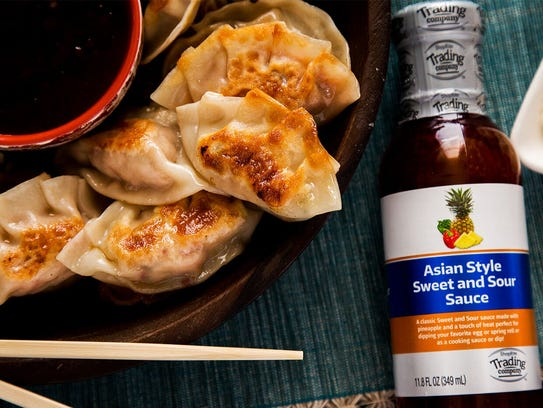 Asian style sweet and sour sauce is available under