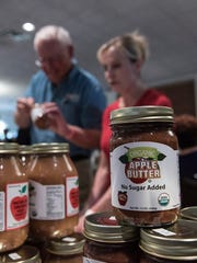 Michael Adsit and Linda Dickinson of Plymouth Orchards