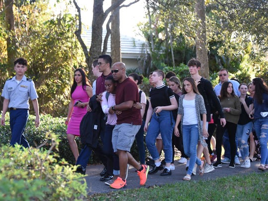 Students returned to classes earlier this week at Marjory