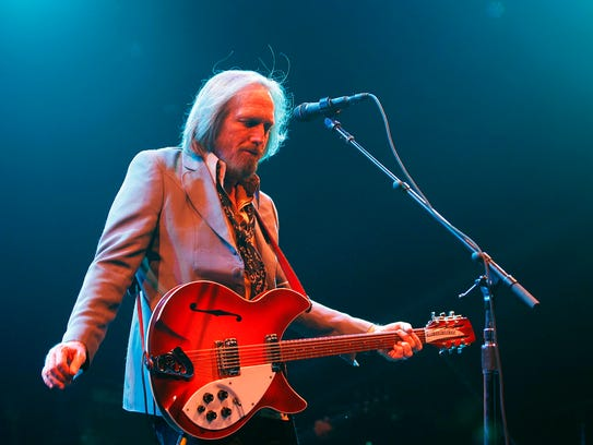 Tom Petty and his band, the Heartbreakers, performed at the Marcus Amphitheater at Summerfest in 2013.