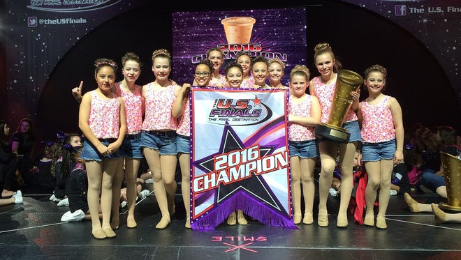 The Starlites Youth Lyrical team won a championship recently in Virginia Beach