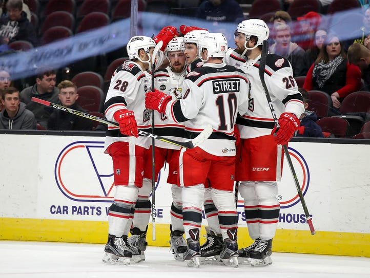 The Grand Rapids Griffins begin defense of their Calder