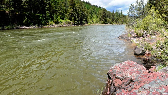 The Blackfoot river at Ninemile Prairie fishing access site. The Land and Water Conservation Fund has helped purchase about 70 percent of Montana's fishing access sites.
