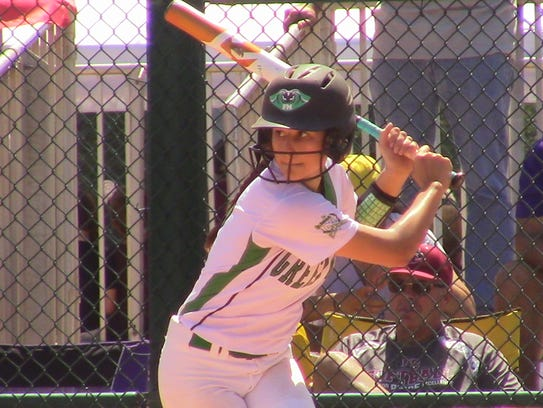 Fort Myers' Allana Consolazio bats Wednesday in the