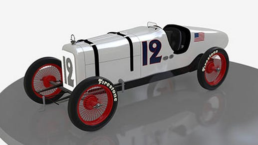 The 1925 Indy 500 winner drove this model, which averaged 101.13 mph