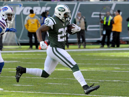 New York's Bilal Powell became the latest running back to abuse the Bills' run defense.