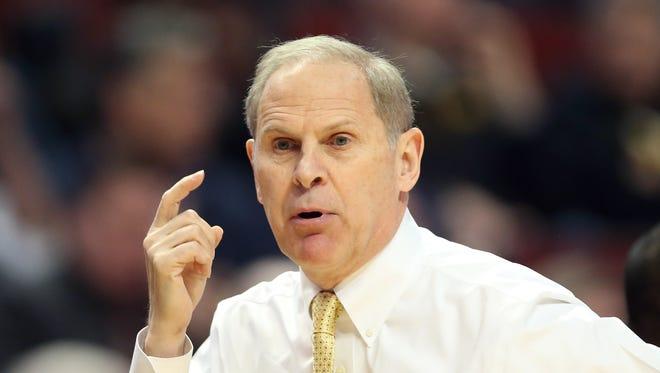 Michigan Wolverines head coach John Beilein.