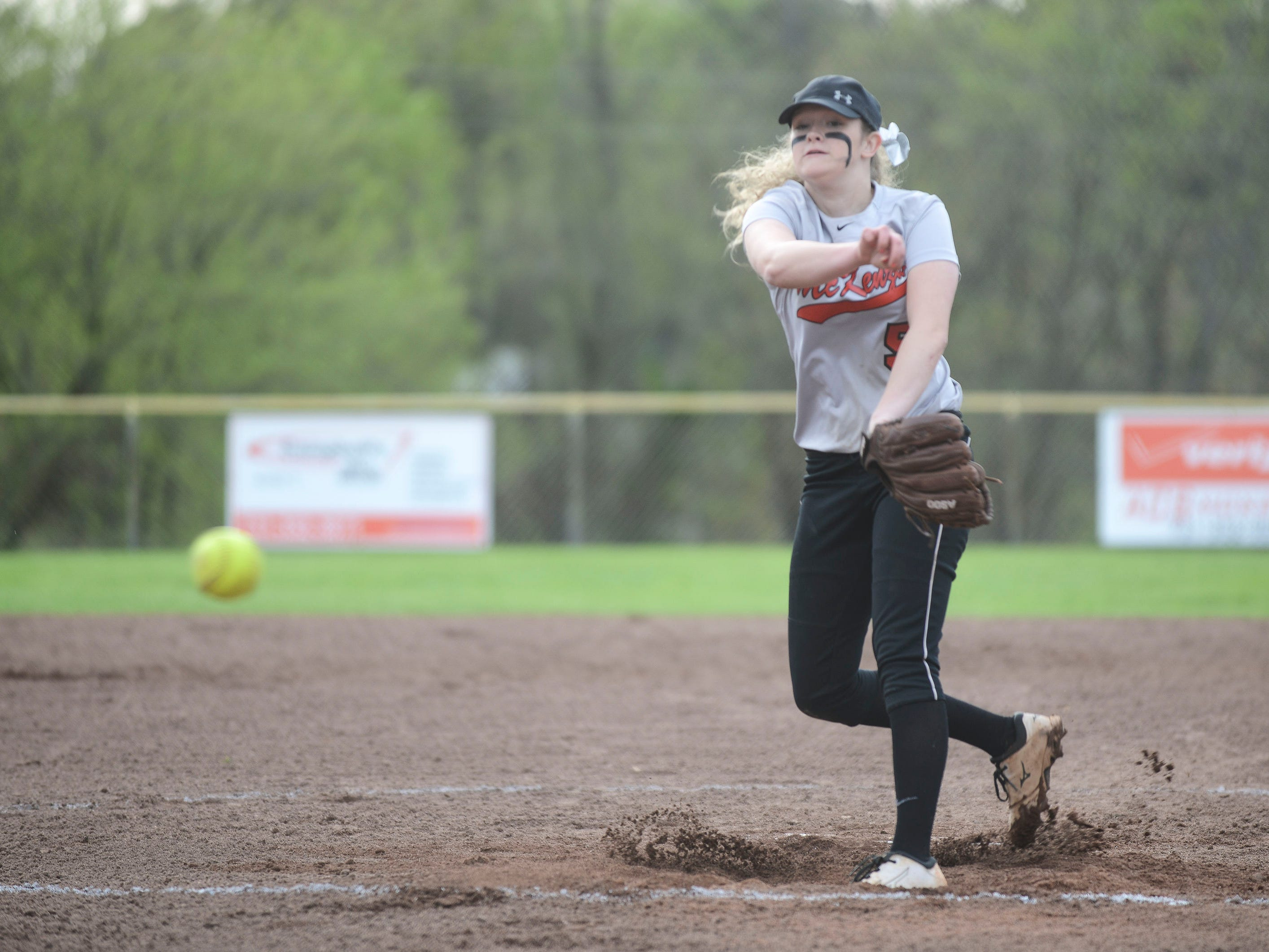 McKenzie's Audrie Washburn led the Lady Rebels to the District 13-A championship as a freshman.
