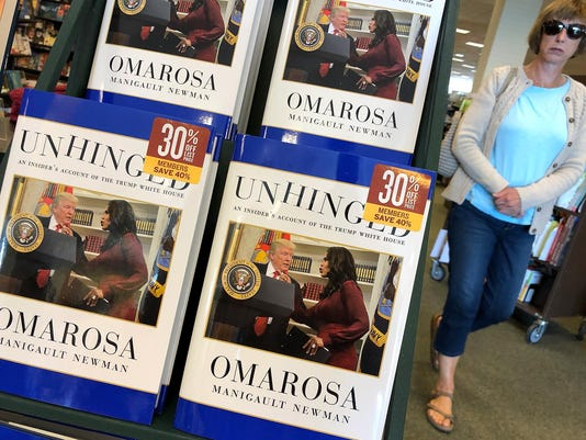 Omarosa Manigault Newman's Book On Trump White House Goes On Sale