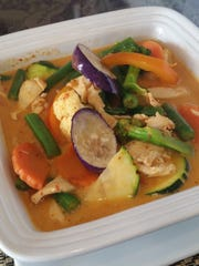 Red curry with chicken at Lamoon's Thai Restaurant