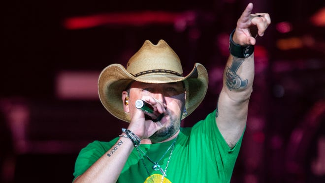 Jason Aldean is among the main attractions at Country USA in Oshkosh. The festival runs June 19-23.
