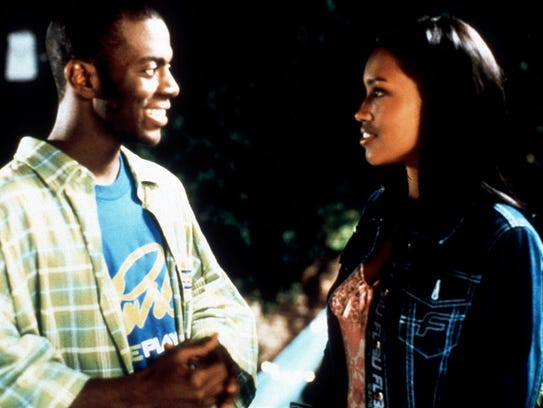 Maia Campbell, right, in a scene from the 1999 film