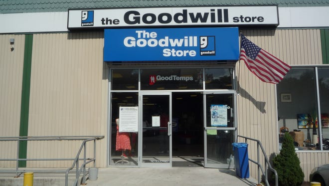 The Goodwill thrift store in Elmsford on Aug. 18, 2014.