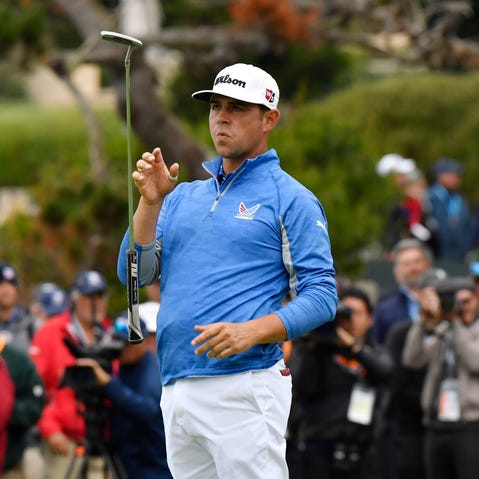 Gary Woodland leads US Open, but four major champions are lurking