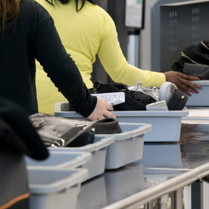 Denver International Airport has had spare change kiosks at security checkpoints since 2013.