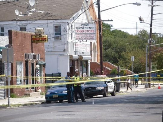 Asbury Park police responded to a reported shooting near the intersection of Asbury Avenue and Central Avenue.