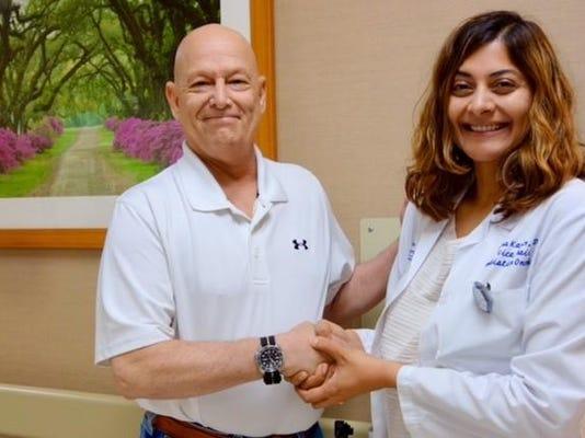 TrueBeam Ben Christener and Dr. Mona Karim