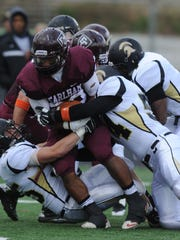 The Earlham football team is 3-57 since the move to the Heartland Collegiate Athletic Conference in 2010.