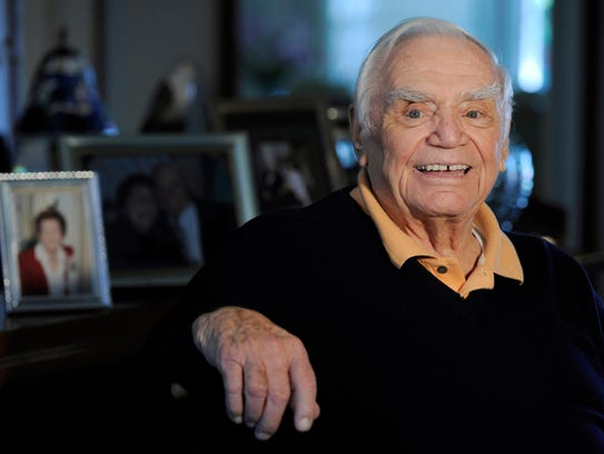 In this Oct. 26, 2010 file photo, actor Ernest Borgnine