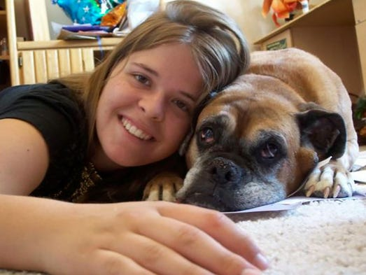 An undated family photo of Kayla Mueller.