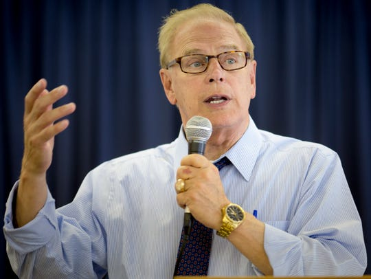 Former Ohio Gov. Ted Strickland, who is running against