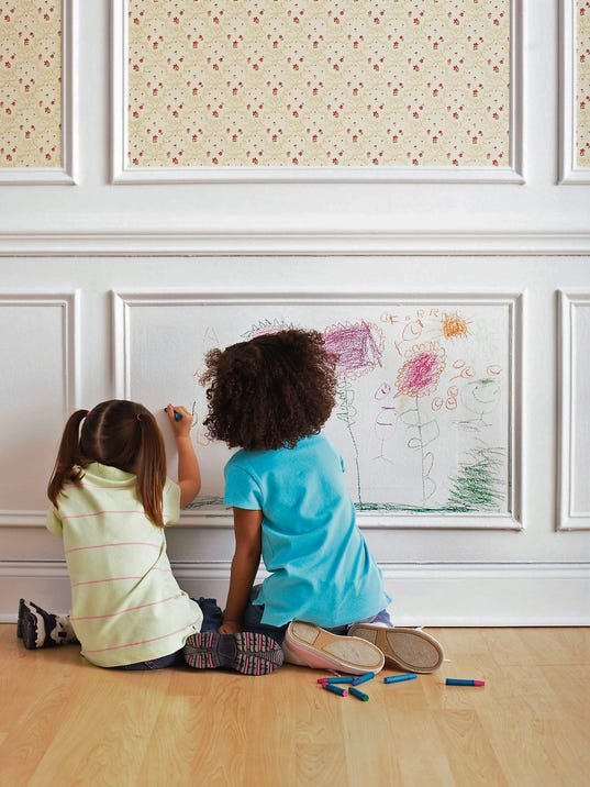 Clean kids crayon marks from walls - Remove crayon walls ...