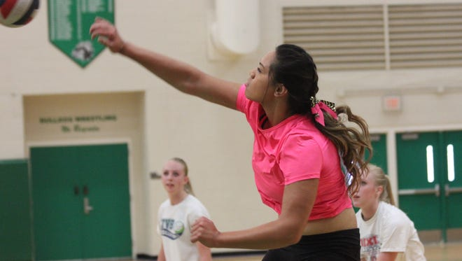 Virgin Valley's Bernice Fiso was a first-team all-state, all-region and all-conference selection this year.
