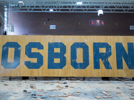 "A repurposed gym floor figures prominently in the Detroit-made documentary ""Life in Osborn"""